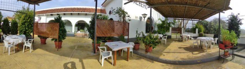 Este fin de semana se estrena la nueva terraza de Venta El Albero de Jerez