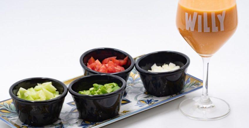 Gazpacho andaluz de Willy de Palmones
