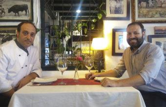 Juanlu Collantes y Nacho Gómez Olarte. Foto: Cosasdecome