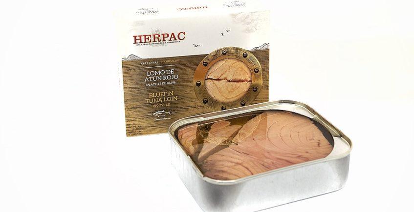 Lomo de atún rojo de Herpac