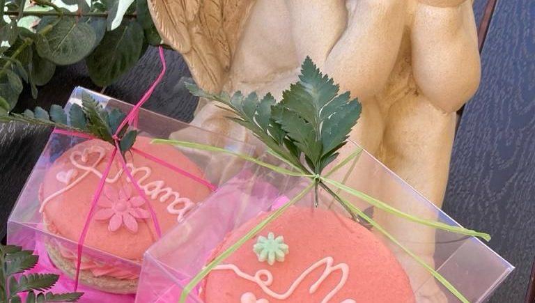 Macarons especiales por el día de la madre en la Rosa de Oro de Jerez