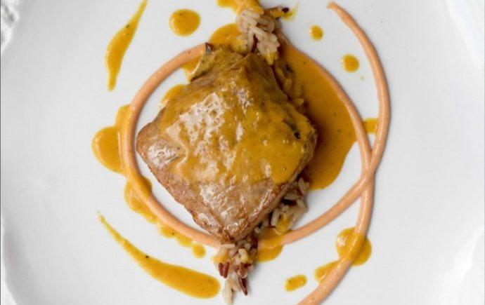Parpatana con coco y curry de El Campero de Barbate