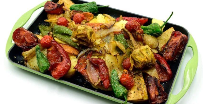 Parrillada de verduras de Willy de Palmones
