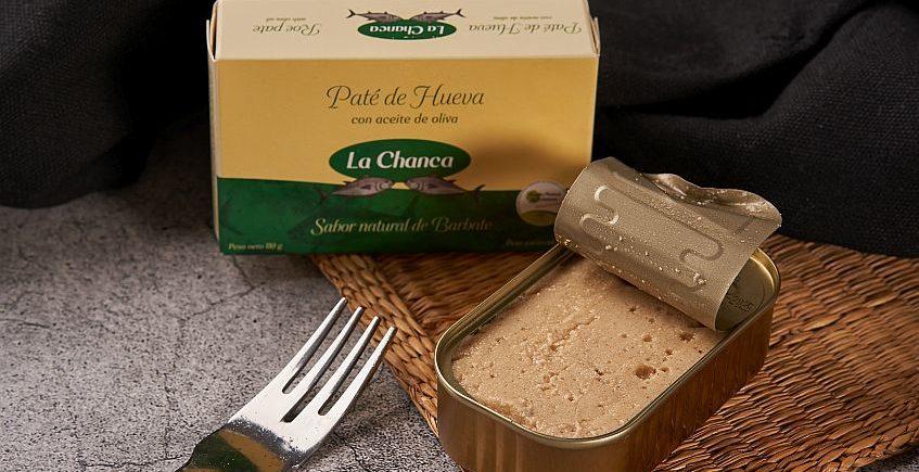Paté de hueva en aceite de oliva en La Chanca de Barbate