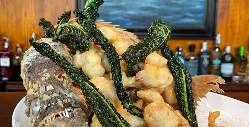 Pescado frito a la gaditana de El Faro de El Puerto