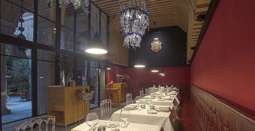 Un restaurante de los de antes en un escenario clásico