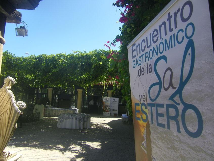 Uno de los patiios de la bodega El Cortijo, donde tendrá lugar el evento. Foto: Cosasdecome