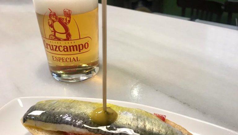 Sardina marinada de Taberna La Sorpresa de Cádiz