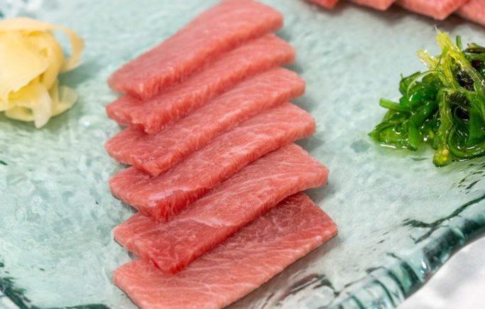 Sashimi Toro de Restaurante Antonio de Zahara