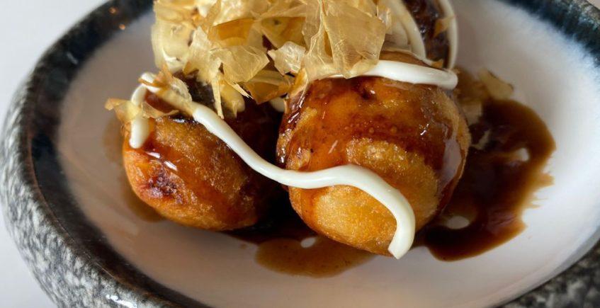 Takoyaki de pulpo de Paralelo 38. Abre el día 15.