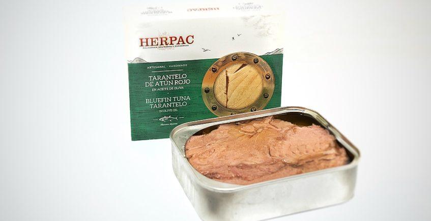 Tarantelo de atún rojo en aceite de oliva de Herpac de Barbate