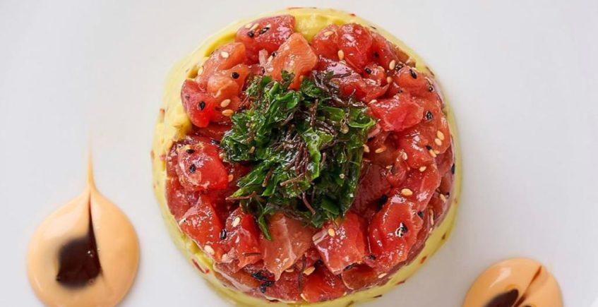 Tartar de atún rojo con guacamole casero de Casa Francisco el de Siempre