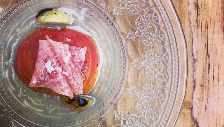 Tomate a la Qandela y Atún en Tohqa de El Puerto
