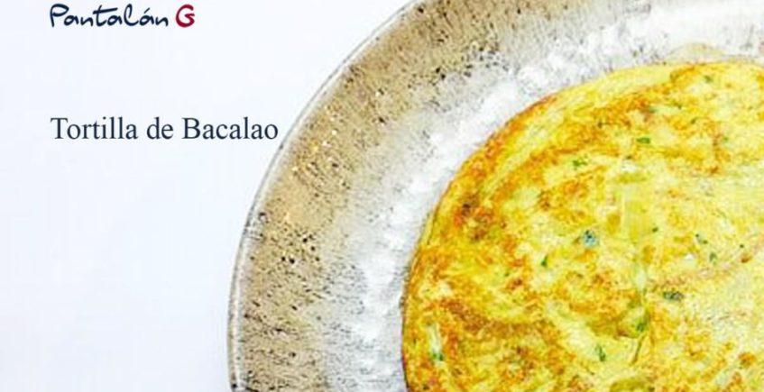 Tortilla de bacalao de Pantalán G de El Puerto