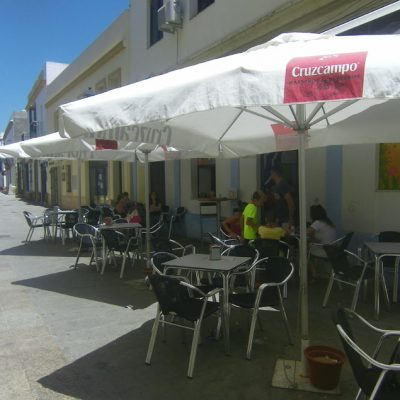 Vista exterior de La Cubana y Ole. Foto: Cosasdecome