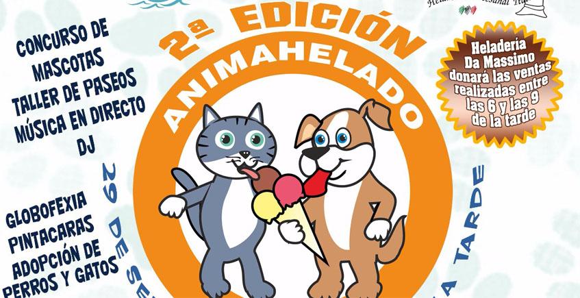 Helados para perros para promover la adopción de animales abandonados