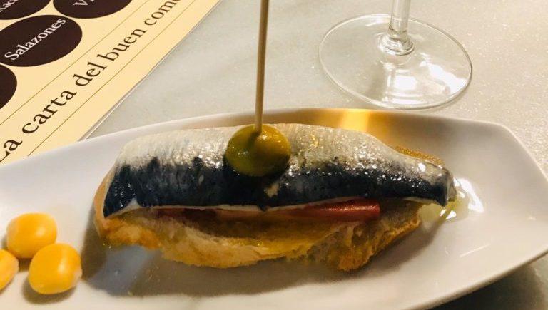 sardina maridana de La Sorpresa de Cádiz