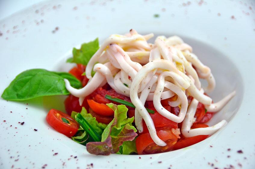 El ceviche, otro de los platos de las jornadas. Foto: Cedida por la Venta Melchor.