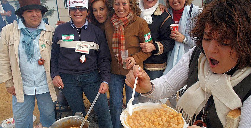 Una pasada edición del fiesta de Trebujena.
