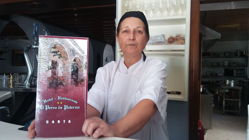 La cocinera Maria José Cortijo, autora de esta receta. Foto: Cosasdecome