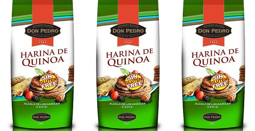 Legumbres Pedro comienza a comercializar harina de quinoa