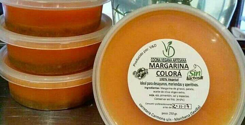 Colorá, con zurrapa y untable... pero margarina