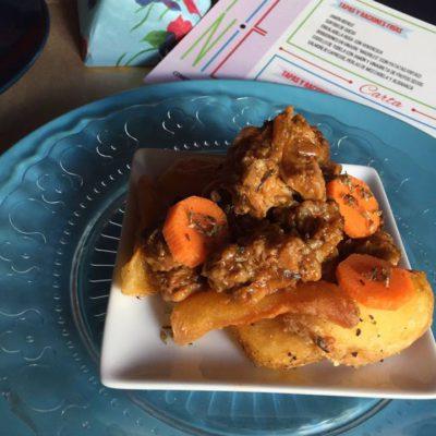 17. Picnic. Costillas adobadas de cerdo ibérico en salsa