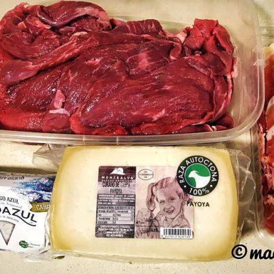 Los ingredientes, dispuestos para empezar.