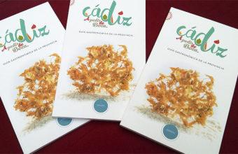 Portada de la guía gastronómica de la provincia de Cádiz.