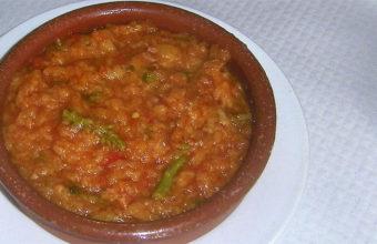 La sopa tomate de la Venta Durán