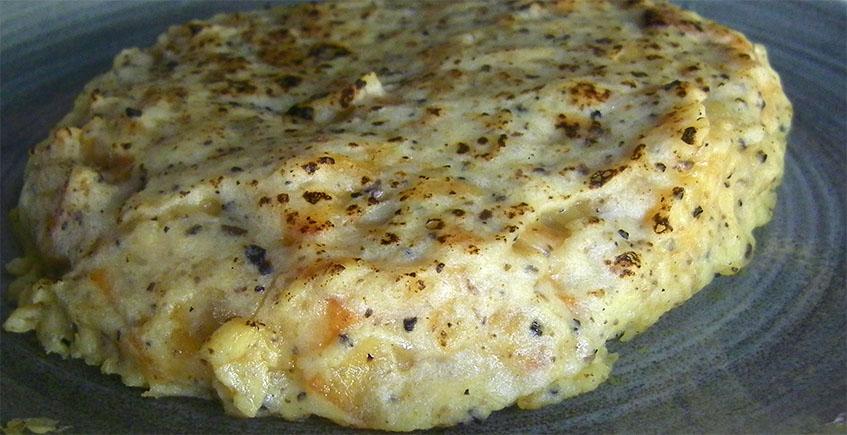 La tortilla de patatas con glamour de La Cuchara de Palo