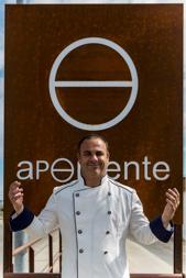 Ángel León, el chef del mar. Foto cedida por el establecimiento.