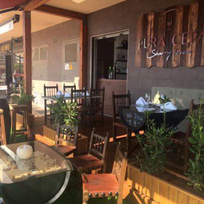 La terraza. Foto cedida por el establecimiento.