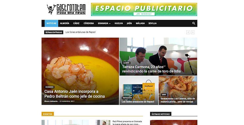 Gastrototem, una revista digital para difundir la gastronomía andaluza en España