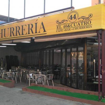 La churrería de Cádiz, que cuenta con terraza. Todas las fotos han sido cedidas por el establecimiento.