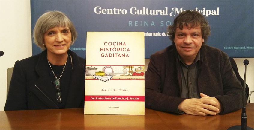 14 de enero. Cádiz. Charla sobre el libro Cocina Histórica Gaditana de Manuel J. Ruiz Torres