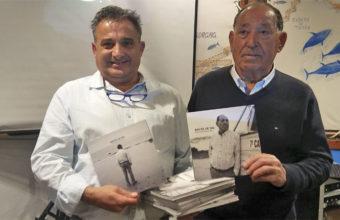 Bartolo Alba, actual gerente del establecimiento, junto a su padre, Francisco. Foto: Cosasdecome