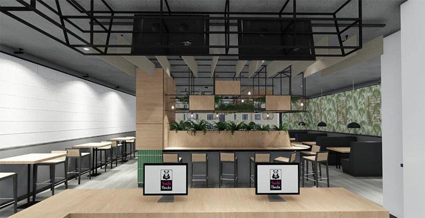 El local especializado en cocina oriental Sushipanda abre nuevo local en el centro comercial San Fernando Plaza de San Fernando