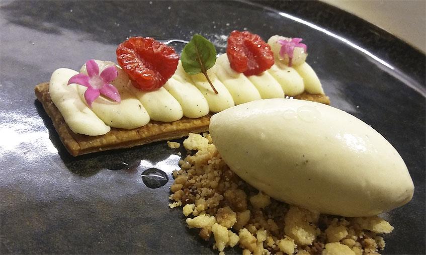 20 soles es el homenaje a la vanilla que hace la cocinera Dolce Nila con este postre. Foto: Cosasdecome