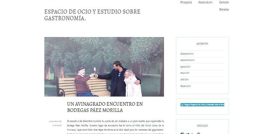 La cocinera Mercedes López crea un blog para compartir experiencias, recetas y novedades gastronómicas