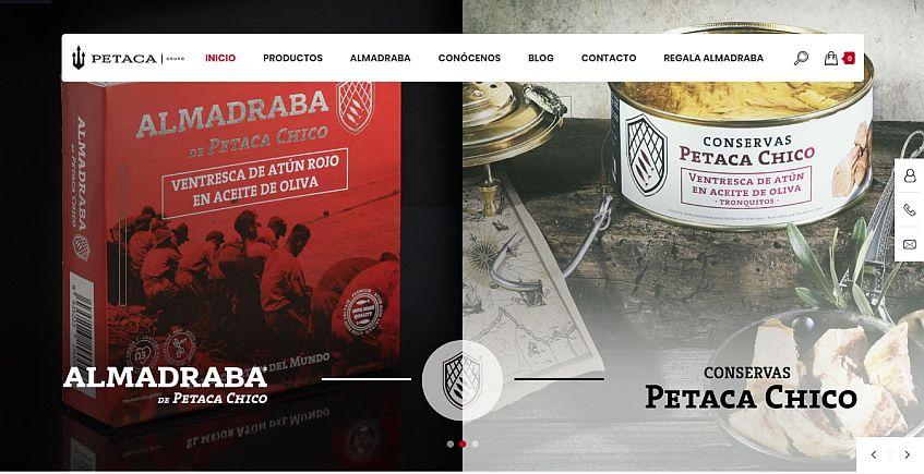 Petaca Chico abre tienda en internet