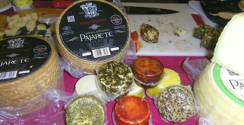Pajarete, mejor queso de los espacios naturales andaluces