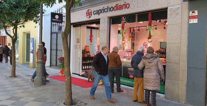 La fachada del establecimiento. Foto cedida por Capricho Diario.