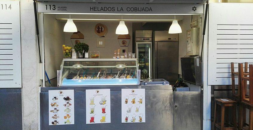 El puesto de Cádiz, en el Mercado Central. Todas las fotos han sido cedidas por la empresa.
