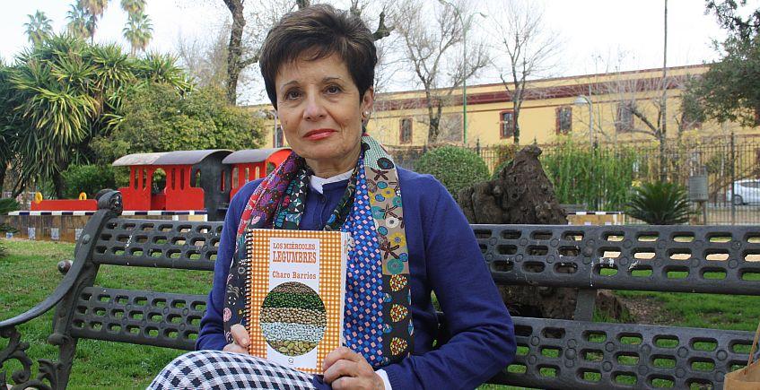Charo Barrios, ganadora de los premios del Bar La Casapuerta