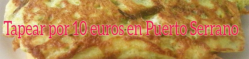 Bares buenos y baratos en Puerto Serrano