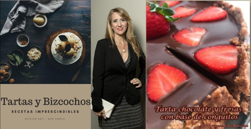 La bloguera Mar Varela publica su primer ebook con recetas de tartas y bizcochos