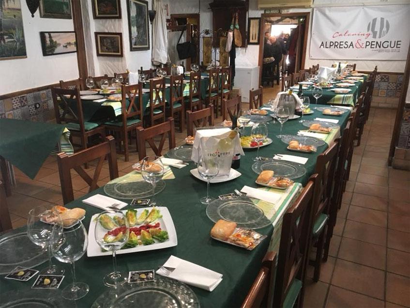 El comedor de Casa El Pengue. Foto: Cedida por el etablecimiento.