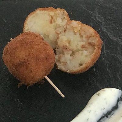 Croqueta de tortilla de papas de La Ceterilla