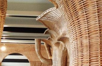 Detalle de la decoración de Las Delicias Costa. Foto: Cedida por Gaspar Sobrino
